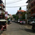 The view on Street 278, also know as the 'Golden Mile,' Phnom Penh
