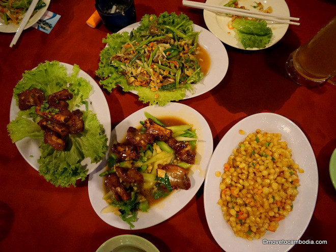 Five Men Fresh Beer Sihanoukville Cambodian food
