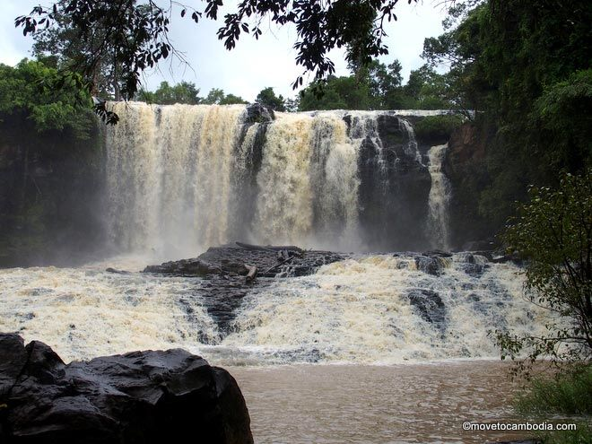 Mondulkiri waterfalls