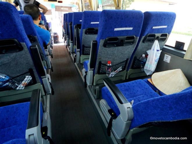 PSD Xpress bus Phnom Penh to Siem Reap