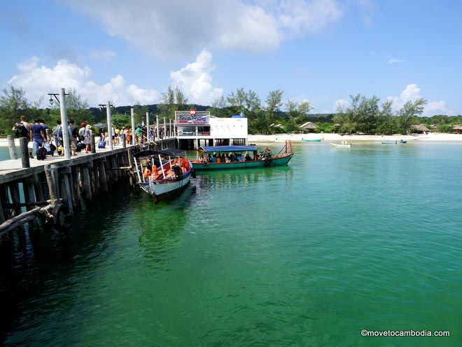 How to get to Koh Rong Sanloem