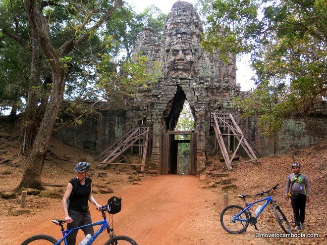 Sunrise cycle tour Siem Reap