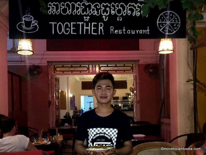 Together pizza Kampot
