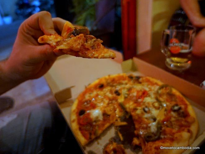 best pizza phnom penh