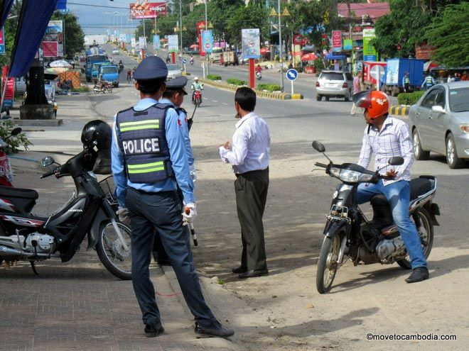 Cambodian traffic laws