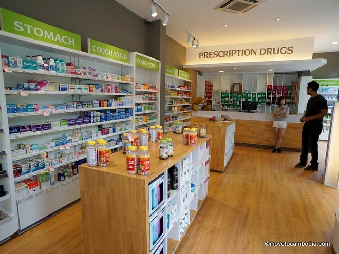 Phnom Penh pharmacy
