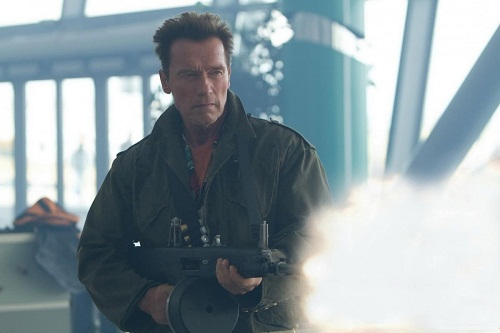 Arnold Schwarzenegger in The Expendables 2