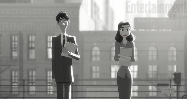 Paperman Still Man and Woman