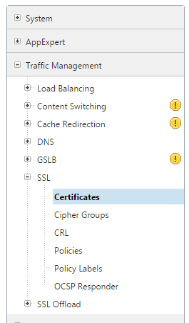 certificados netscaler