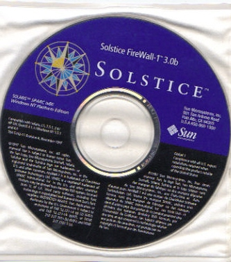 Solstice firewall 1