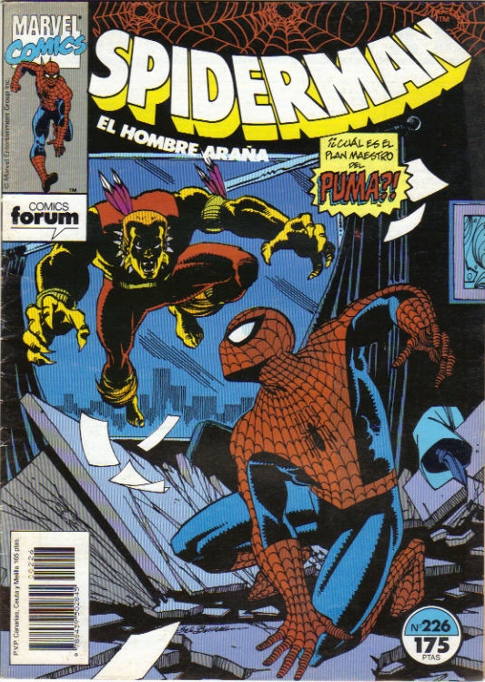 spiderman 226 forum marvel 2012