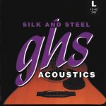 Ghs Silk And Steel Acoustic Guitar Strings Light