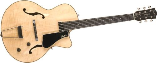 Godin 5Th Avenue Jazz Guitar Natural Flame
