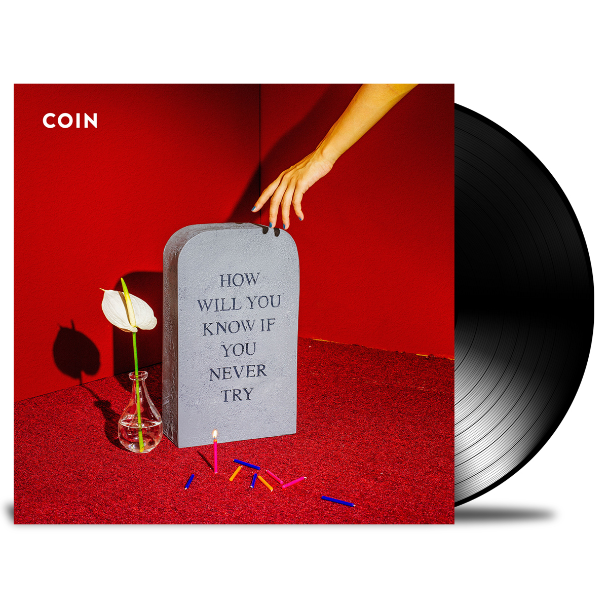 Coin How Will You Know If You Never Try Vinyl