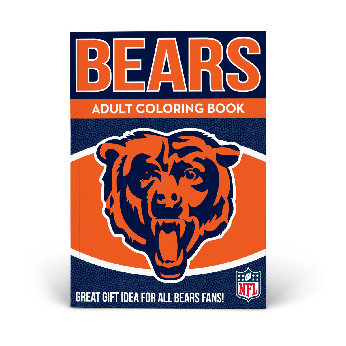 Chicago Bears Adult Coloring Book Shop The In The Sports Zone Official Store