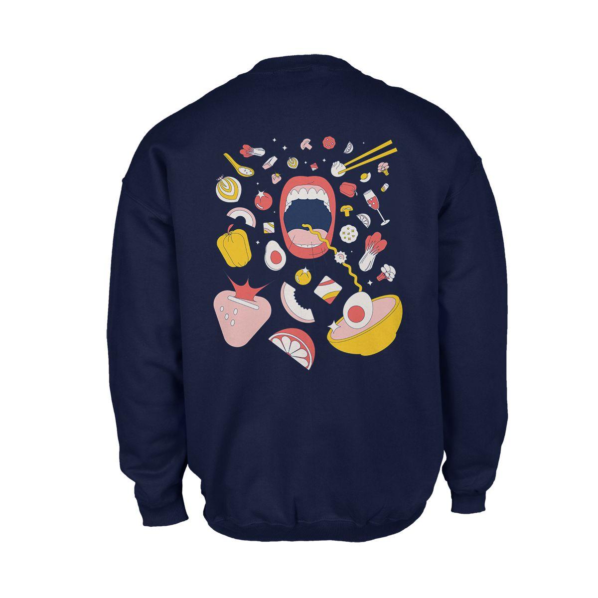 Los Angeles Times Food Crewneck Sweatshirt