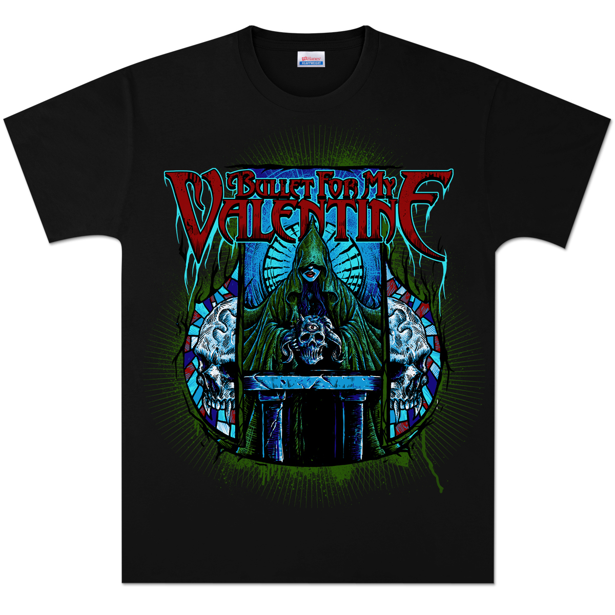 Bullet For My Valentine Hooded Vixen T Shirt Shop The