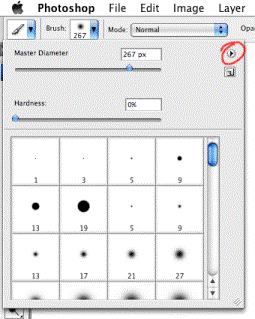 install brushes tutorial screenshot