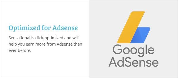 Optimized for Adsense