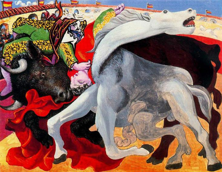 Bullfight Picasso