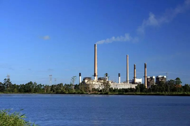 Jorge Lacerda Thermoelectric Power Plant is located in Capivari de Baixo –  Photo: file/ND