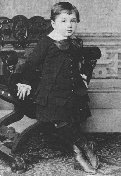 child Albert Einstein