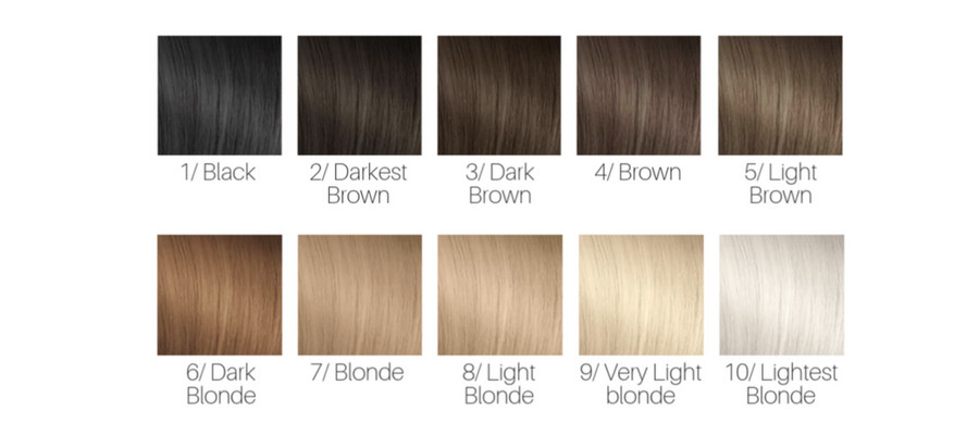 Hair Color Levels 1 10 Chart