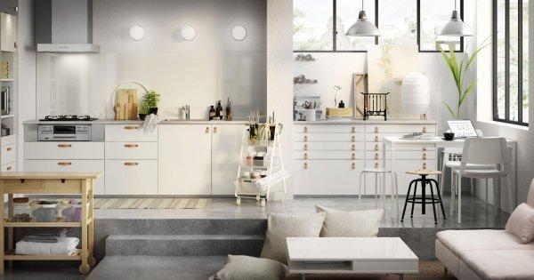 installation de cuisine ikea amenagez