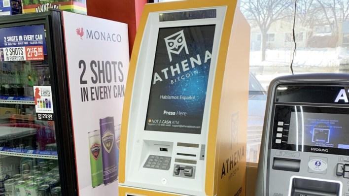 Athena Bitcoin, BTC Yasal İhale Olurken El Salvador'da 1.500 Bitcoin ATM'si Kuracak