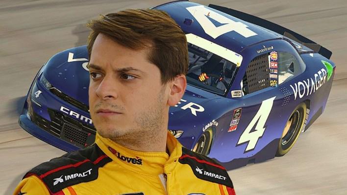 NASCAR Sürücüsü Landon Cassill, Sezonun Geri Kalanında Kripto Para Birimi Olarak Ödenecek