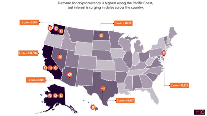 Çalışma, Hawaii'nin Geçen Yıldan Beri En Çok Kripto Para Birimi Talebini İfade Ettiğini Gösteriyor