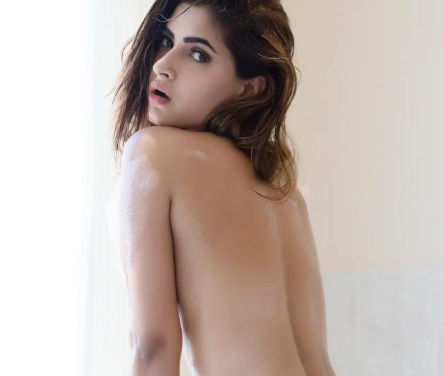 Where The Sizzling Hot Karishma Sharma Has Almost Bared It Wrapping A Piece Of Furry Cloth Here Are The Images Which Made The Instagram Users Go Crazy