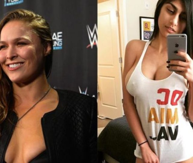 Mia Khalifa After Disrespecting Rounda Rouseys Wwe Transfer Former Porn Star Accepts Wrestling Invitation