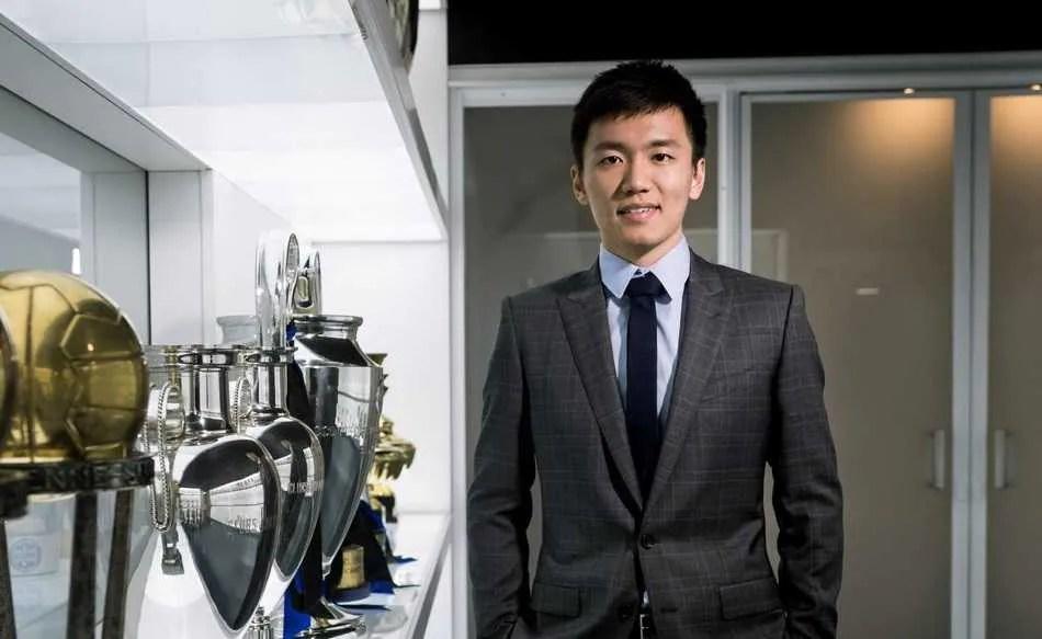 Steven Zhang Twitter uff Inter