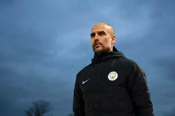 Guardiola training 2019 Manchester City Twitter