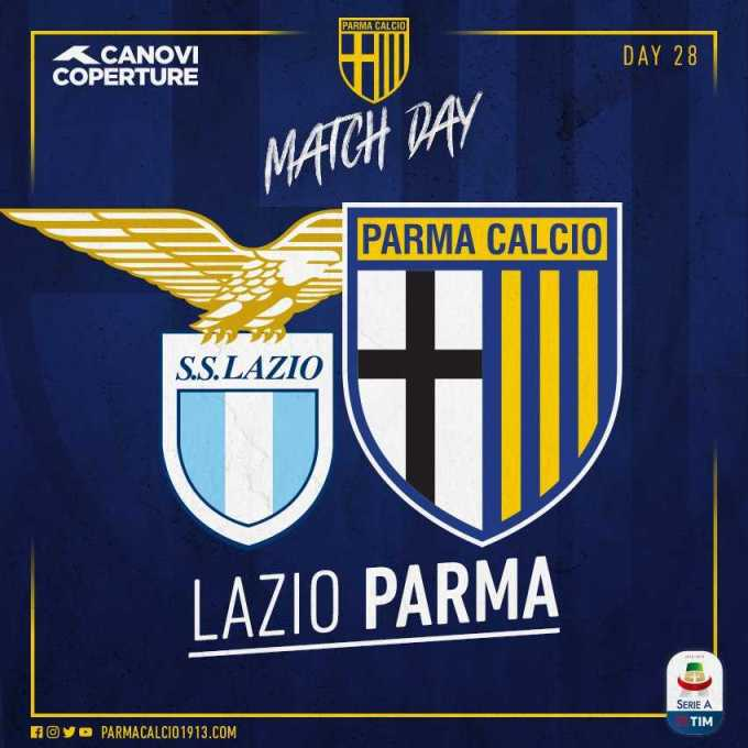 Lazio Parma twitter uff Parma