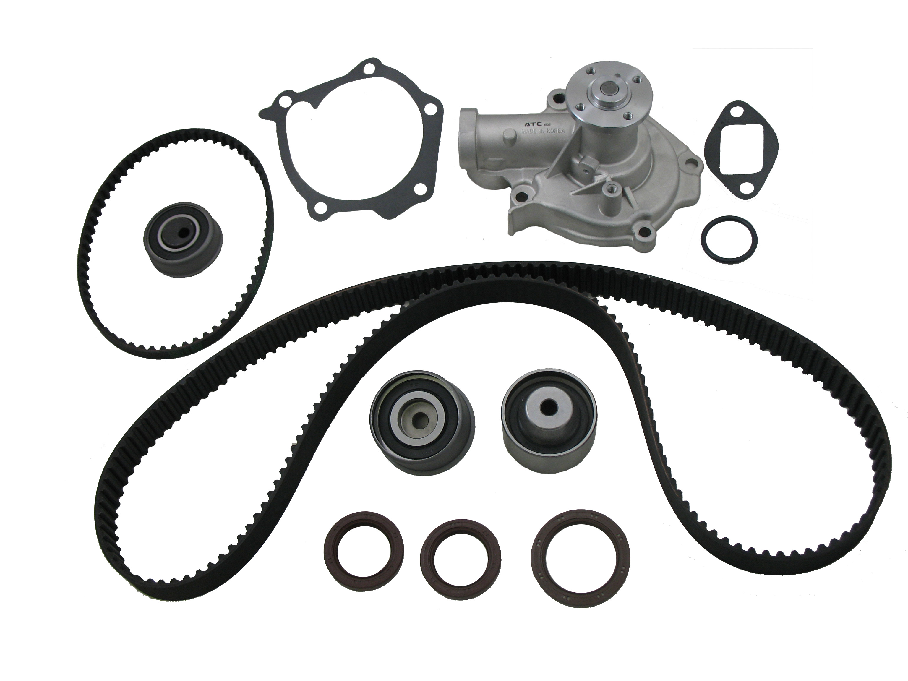 Timing Belt Water Pump Kit K249 Fits Hyundai Sonata