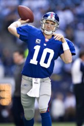 Image result for picture of Eli manning playing football