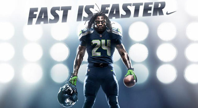 No team received a bigger makeover from Nike than the Seahawks.
