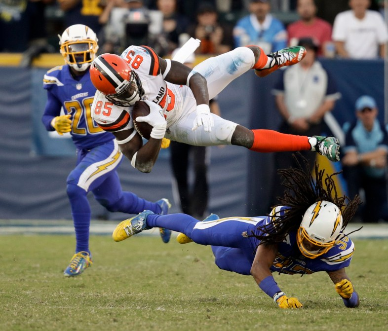 David Njoku Week 13 Rookie Review