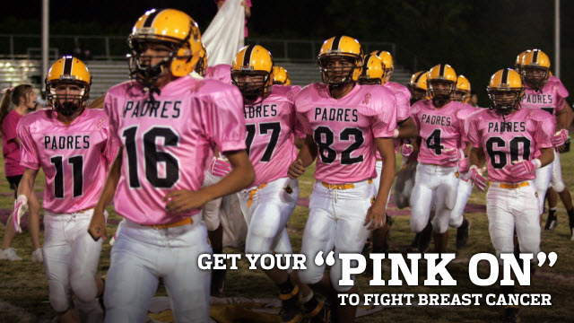 Get your �pink on� to fight breast cancer