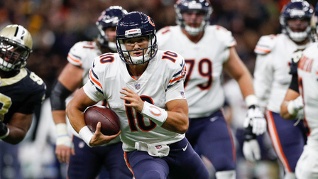 Image result for mitch trubisky scramble