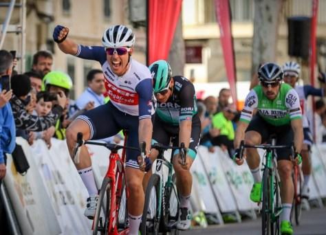 Matteo Moschetti aplaude no primeiro passeio Challenge Mallorca