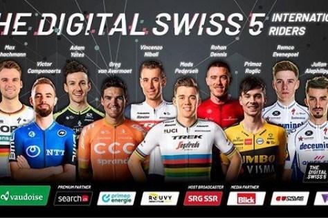 Percorrendo a Suíça: tudo o que você precisa saber sobre a primeira corrida de estágio virtual com muitos nomes atraentes (e na TV!)