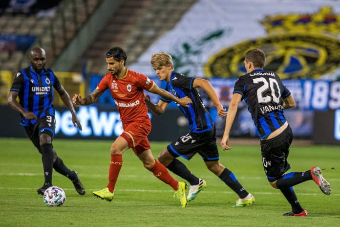 No double for Club Brugge: Lior Refaelov has been awarded Antwerp first prize since 1992