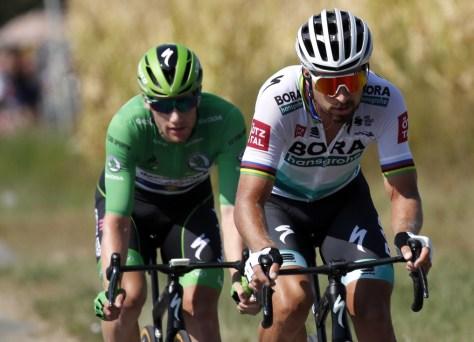Isso traz a etapa de sexta-feira de Bourg-en-Bresse a Champagnole: última chance para Peter Sagan