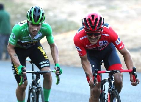 """Depois de um grande duelo na Vuelta, Roglic aproxima-se novamente a 13 segundos do líder Carapaz: """"Estava a correr por instinto"""""""