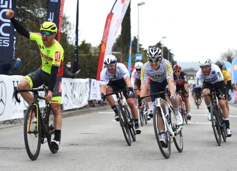 Timothy Dupont obtém a primeira vitória belga da temporada em Ster van Bessèges, duas quedas prejudicam o sprint