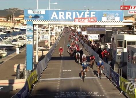 Deceuninck-Quick-Step marca imediatamente no Tour de La Provence: Davide Ballerini é mais rápido que Arnaud Démare