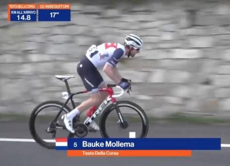 A temporada italiana de ciclismo também começou: Trofeo Laigueglia presa para o super forte Bauke Mollema, Vansevenant impressiona